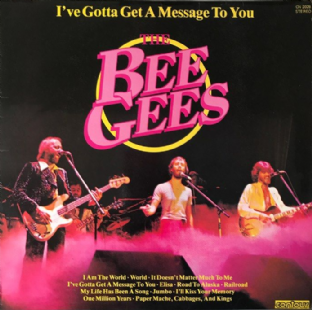 Bee Gees - I've Gotta Get A Message To You (LP) (EX/VG)